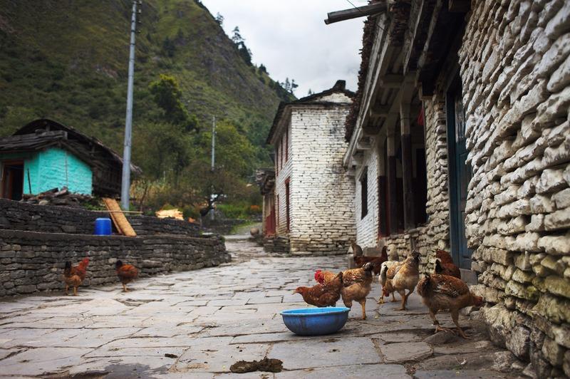 Nepali houses